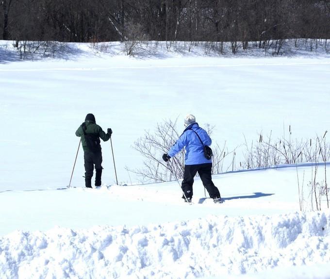 Esquí de fondo en el Canal