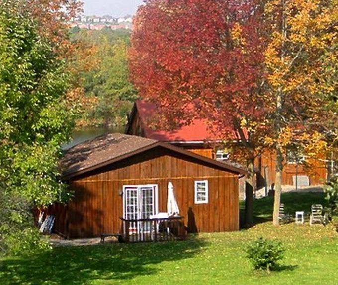 Parkview suite, private patio
