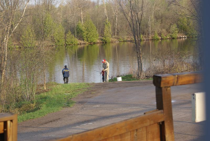 Fishing at Liftlock B&B