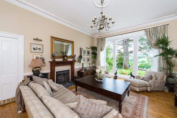 Bright spacious lounge, with stunning views.