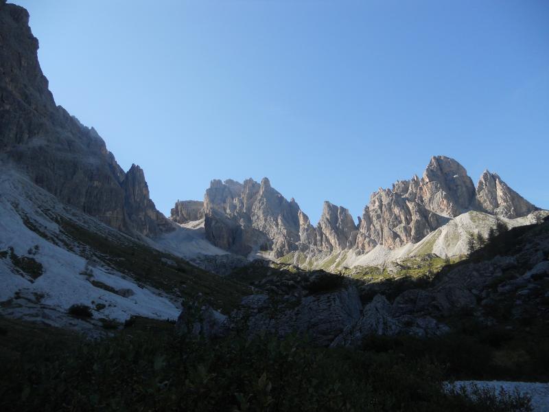 paesaggio della Val Comelico