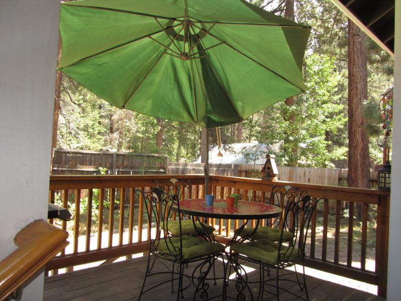 Backyard Deck and BBQ Area