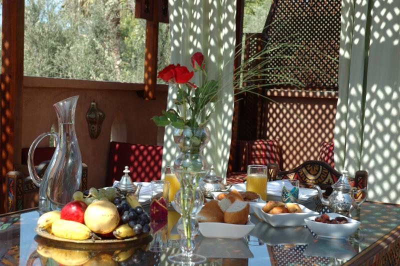 Colazione in Riad Dar Tanasa
