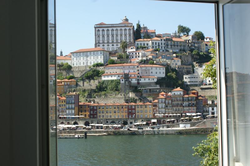 View to Ribeira and Douro river
