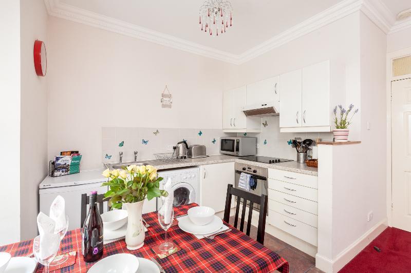 Blair St Burns kitchen area