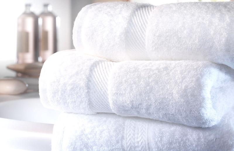 Bed-sheets and towels are included