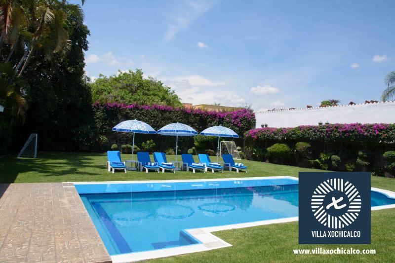 Perfecta para un fin de semana soleado en Cuernavaca, Morelos.