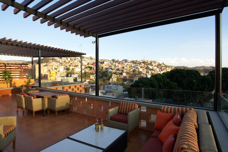 Terraza lounge seating.  Perfect for evening sunset