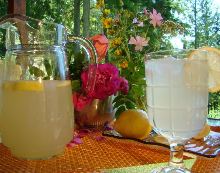 Stay cool in the shade of the covered porch on a hot sunny day