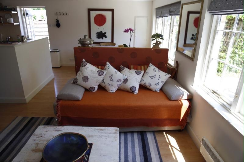 This is the sofa bed, it can be 2 singles or 1 king size