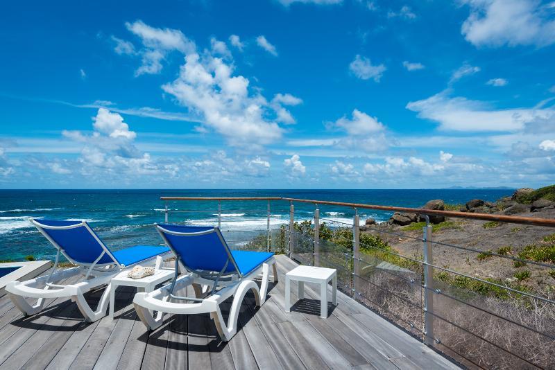 Villa Bleu Matisse: Terrace - ocean view
