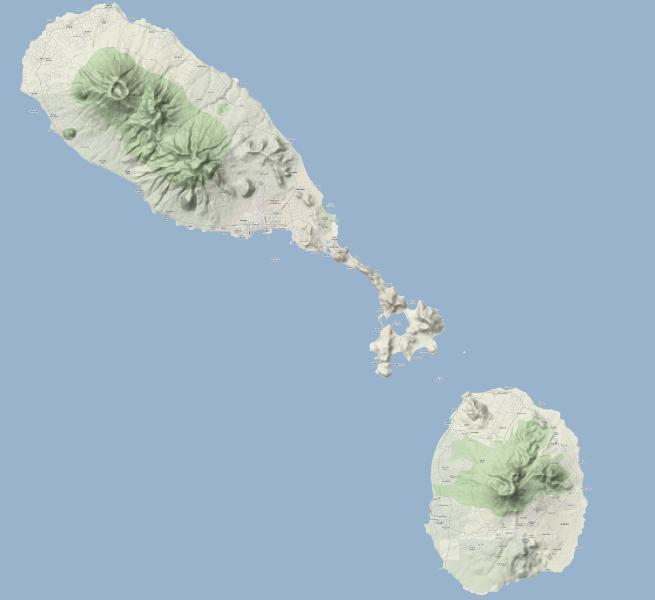 The amazing islands of St. Kitts and Nevis.