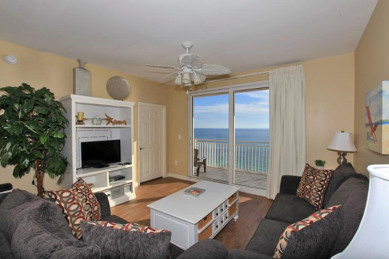 Beautiful Gulf Views from the Living Area