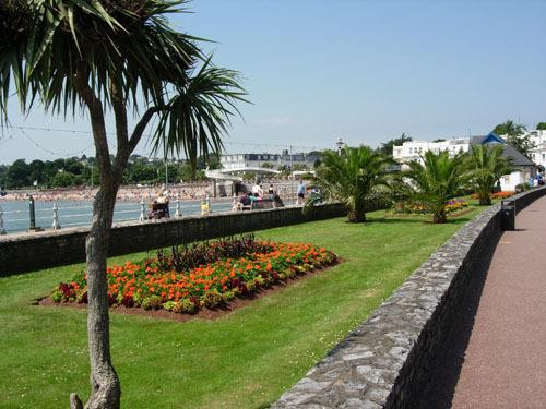 torquay sea front also known as the English riviera