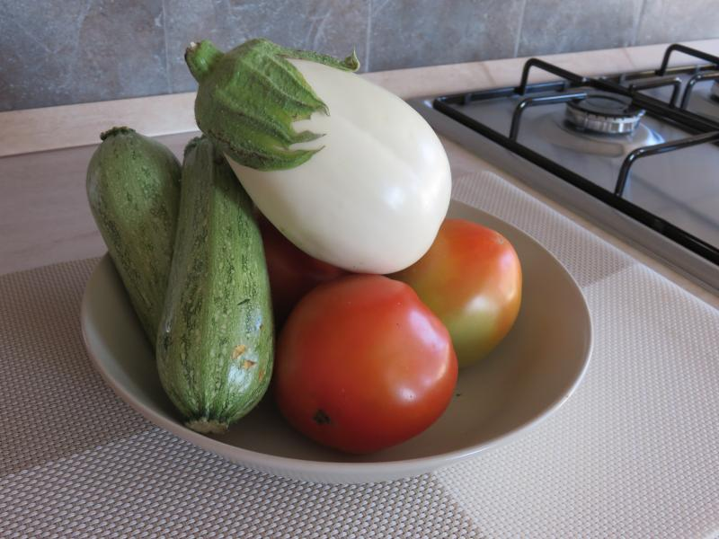 Produce from the `orto'