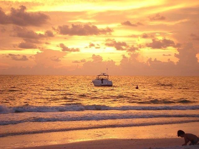Sunset on Indian Shores Beach...