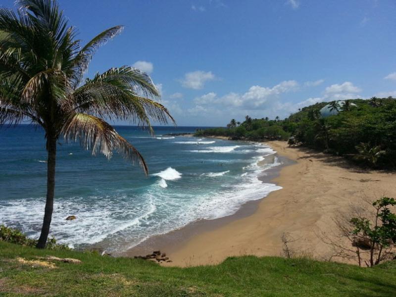 Rincon vista faro per il surf spot