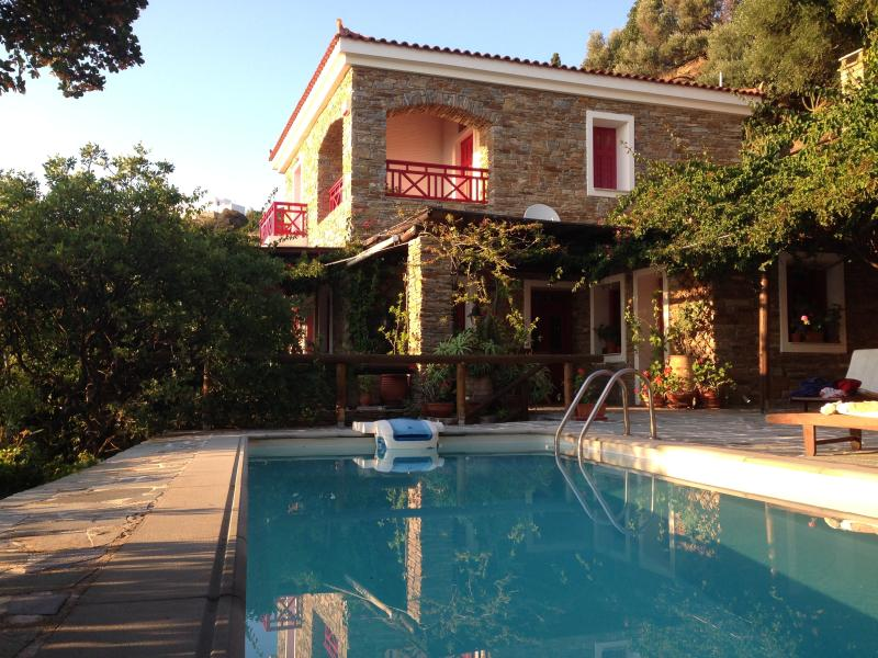 Luxurious villa with private swimming pool&seaview, vacation rental in Paleopolis