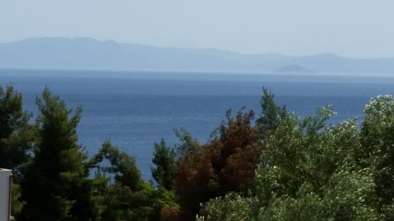 View of Sithonia and the sea