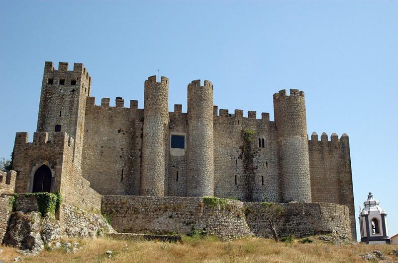 Óbidos Castle Wall