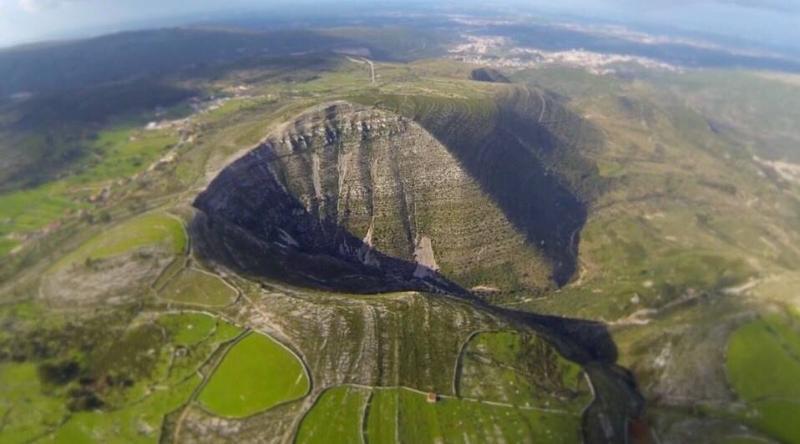 Geological Landmark of Deliver