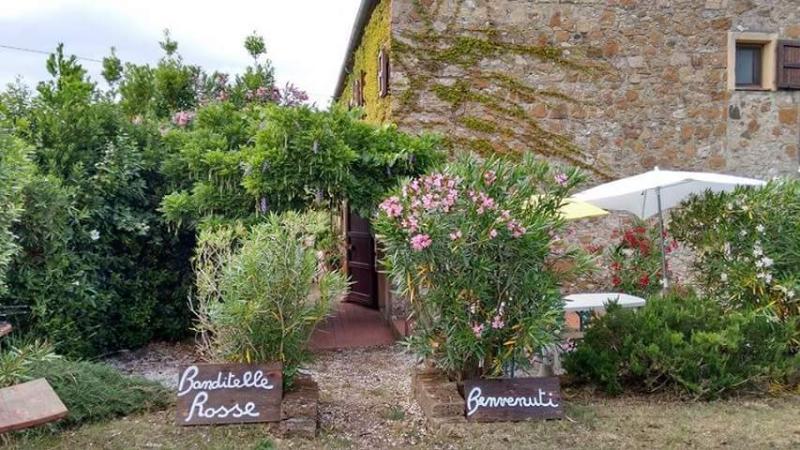 Appartamento CAMPANULA in casale toscano con piscina, holiday rental in Castellina Marittima