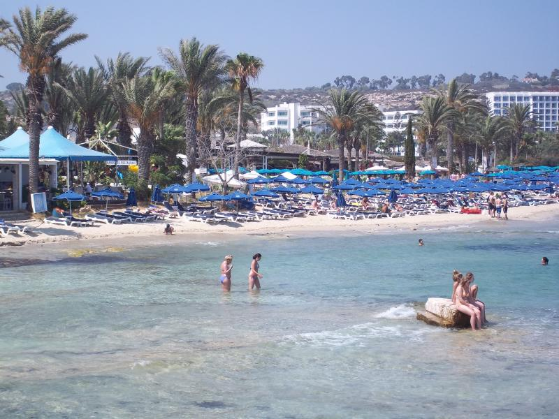 Munincipal beach in Ayia Napa