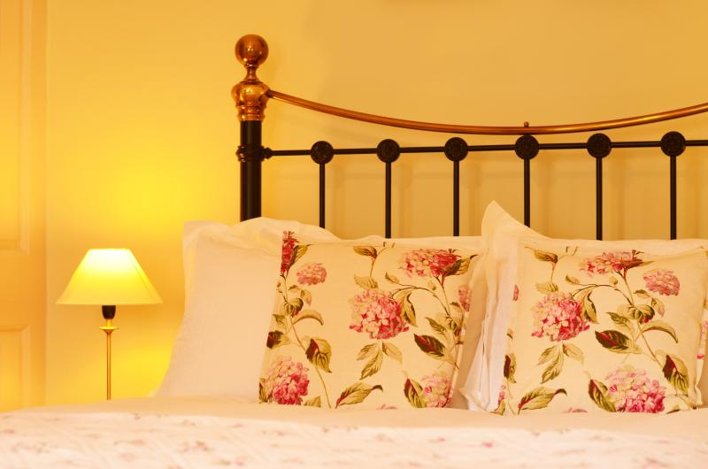Comfort & a bit of luxury in the Wee Grange Bedroom