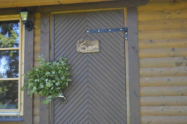 Separate sauna house