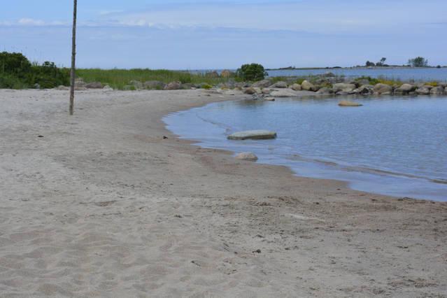 Local beach in 1 km