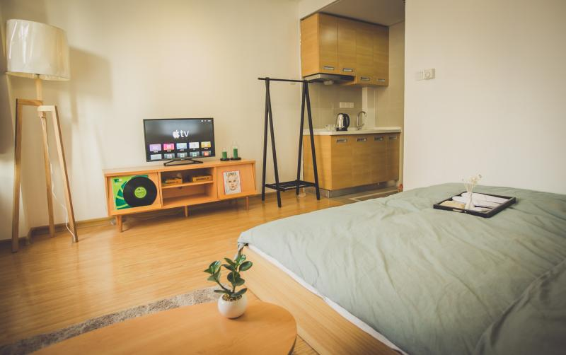 Qingdao Shenhao Serviced Apartment, Ferienwohnung in Qingdao