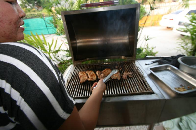 Our BBQ for everybody to use