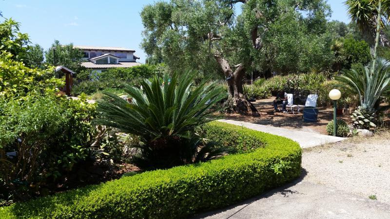 foto panoramica della casa vacanze le radici