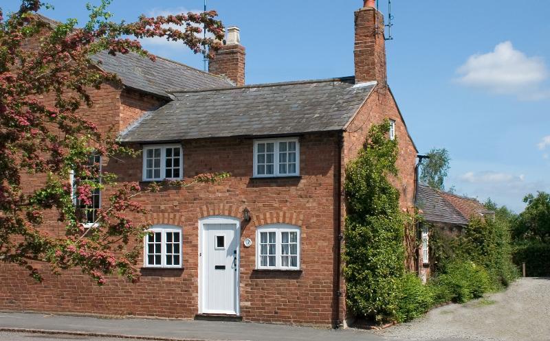 A pretty cottage in a peaceful, pretty village