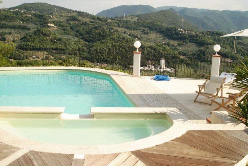 piscina con vista panoramica