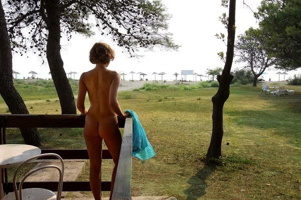 Ada Bojana - nudist beach
