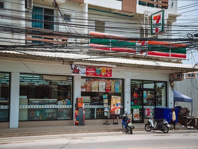 150 meters Supermarket. Restaurants