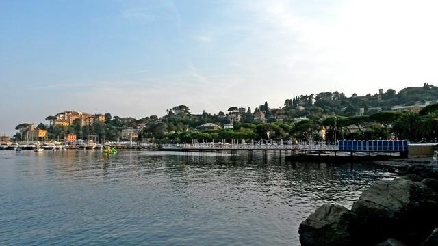 Rapallo apartmen ton the Ligure Sea to rent