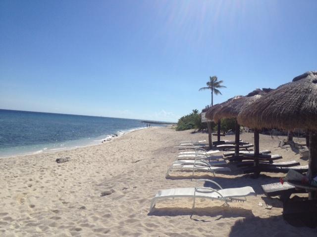 beach within a 5 minute walk