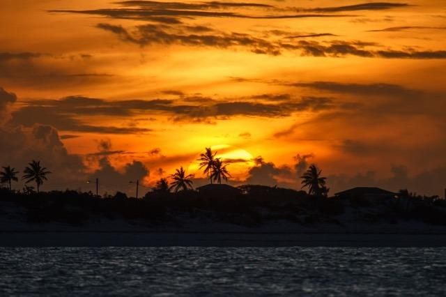 The end of a blissful day in Exuma