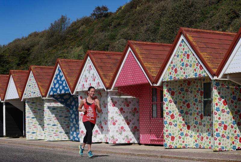 Cath Kidson beach huts