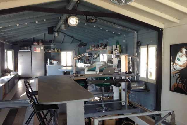 Mesa Bar, vista en la cocina