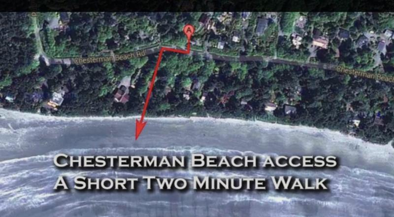 Surf Shack Property is a 1 min walk to the beach