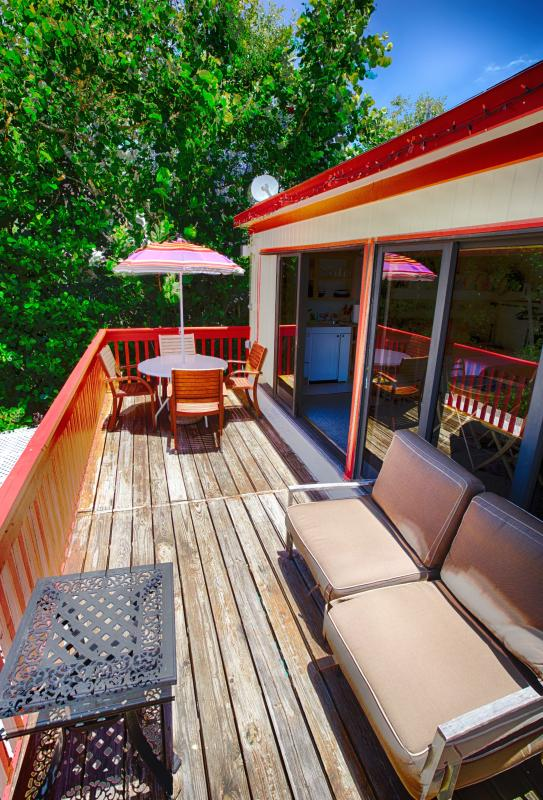 Upper Suite balcony with 20' open view to the Gulf of Mexico!