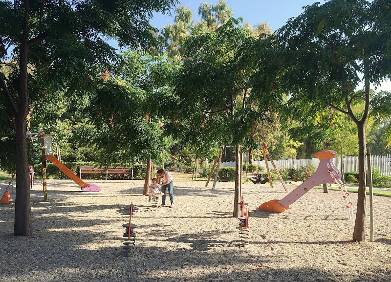 Local children's playground.