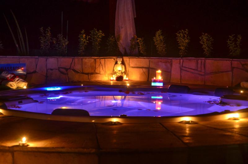 Jacuzzi available for private use