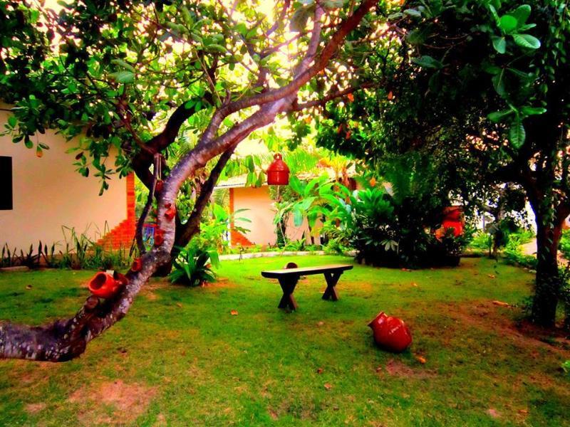 Jardim tranquilo