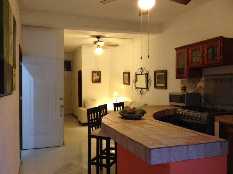 Kitchen // living room