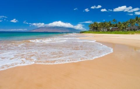 Beautiful beaches right across the street