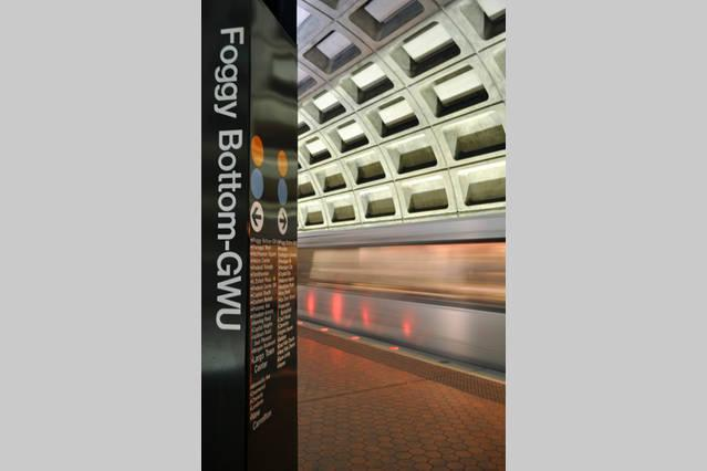 You are on 25th Street...Foggy Bottom Metro is on 23rd...Easy Access!